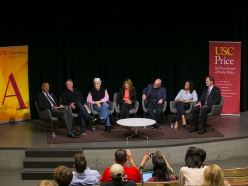 "USC Price, Annenberg Conversation Explores ""America Divided"", Moderated by Bonnie Reiss"