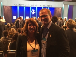 Schwarzenegger Institute Participated in the Clinton Global Institute Annual Meeting