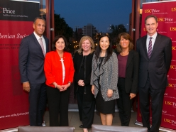 LA County's top three leaders – all of whom are women – convene at The Price School of Public Policy for a Discussion with Bonnie Reiss