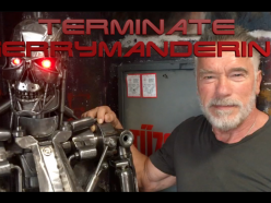 Schwarzenegger Takes Break from Filming to Terminate Gerrymandering