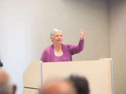 Senator Fran Pavley Speaks at the Central Coast Sustainability Summit