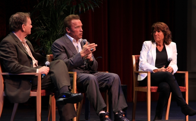 Terry Tamminen, Governor Arnold Schwarzenegger, Bonnie Reiss