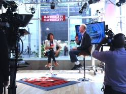 Schwarzenegger Institute Global Director Bonnie Reiss joins Ed Begley Jr. on BiteSize TV