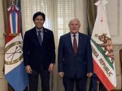 Senate President Emeritus Kevin de León Speaks at 3rd Climate Conference of the Americas