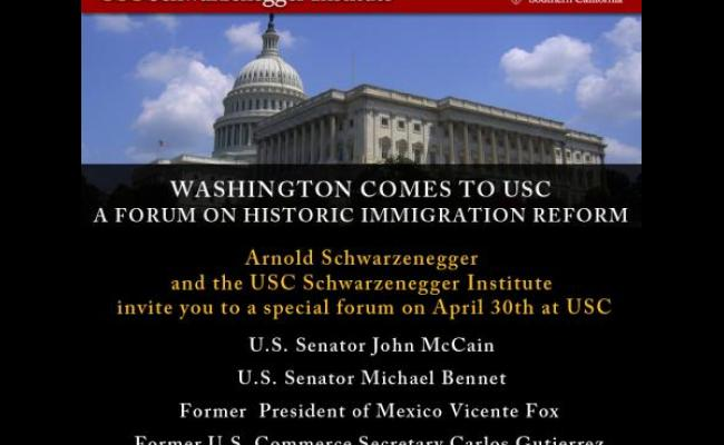 Washington Comes to USC: Immigration Reform Forum