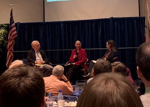 Professor Richard Frank, Senator Fran Pavley, and Felicia Marcus discuss the Sustainable Groundwater Management Act.