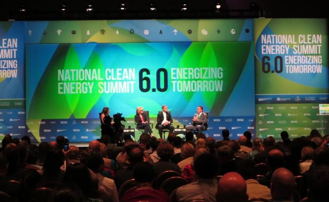 Governor Schwarzenegger, Maryland Governor Martin O'Malley and former Michigan Governor Jennifer Granholm at the Clean Energy Summit